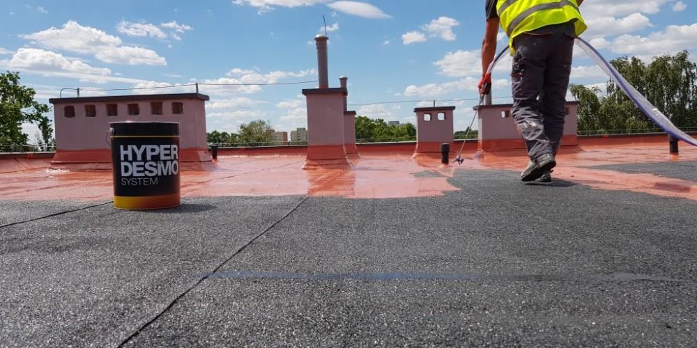 Naprawa dachu z papy i wymiana pokrycia dachowego